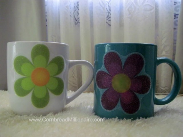 DIY Project:  Flower Cups