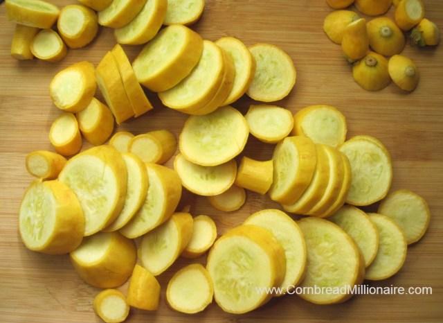 Sautéed Yellow Squash and Onions