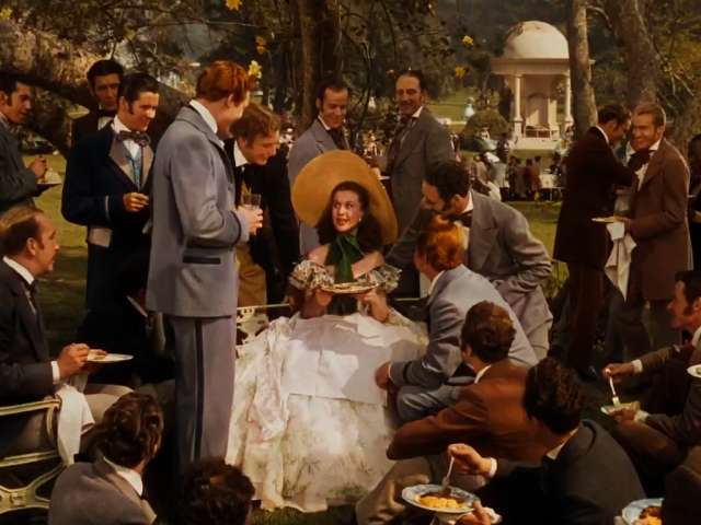 Image result for gone with the wind barbecue