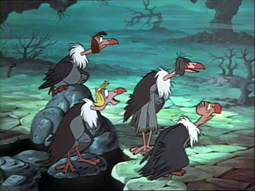 Image result for the jungle book vultures