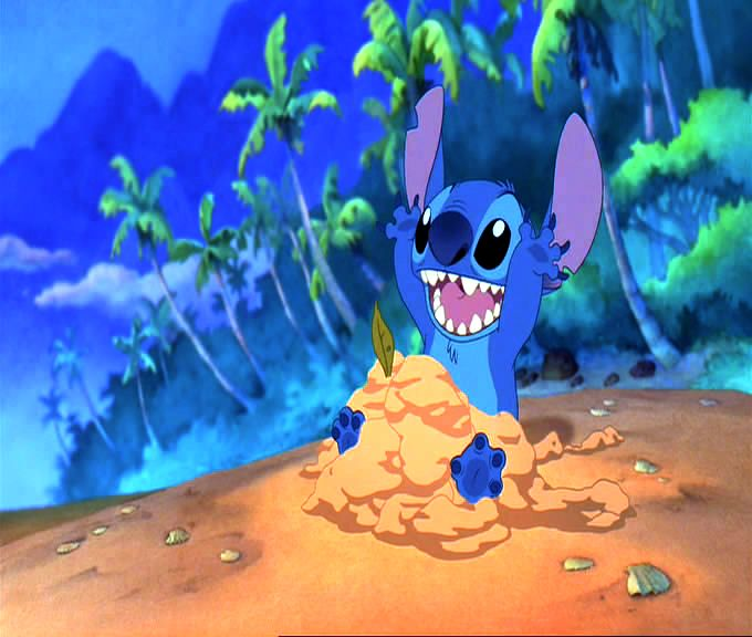 Girl Back Side Wallpaper Hawaiian Roller Coaster Ride Video Song Lilo And Stitch