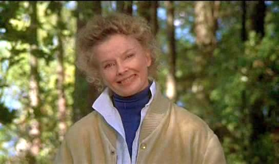 Image result for picture of katharine hepburn on golden pond
