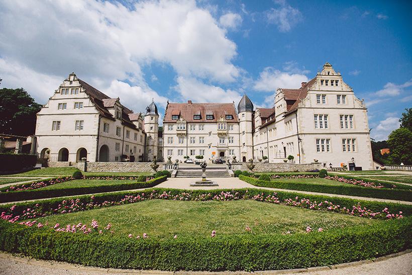 Hochzeit auf Schloss Muenchhausen und Yachtclub Hannover