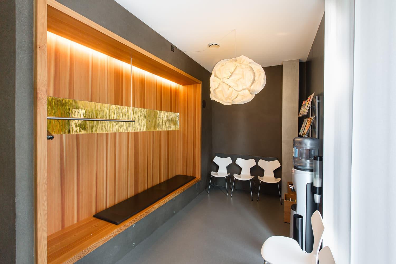Zahnarztpraxis Aarau Wartezimmer
