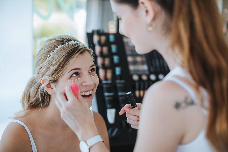 Braut Make-up Hochzeit