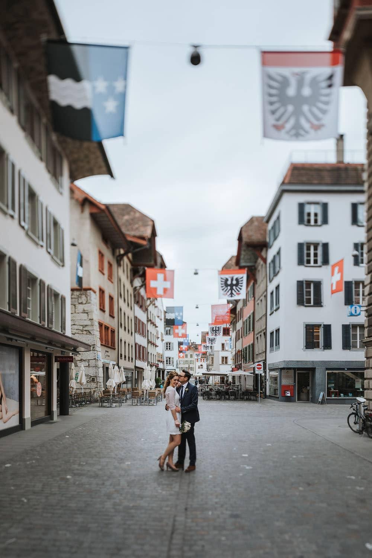 Hochzeitsfotos Aarau Altstadt