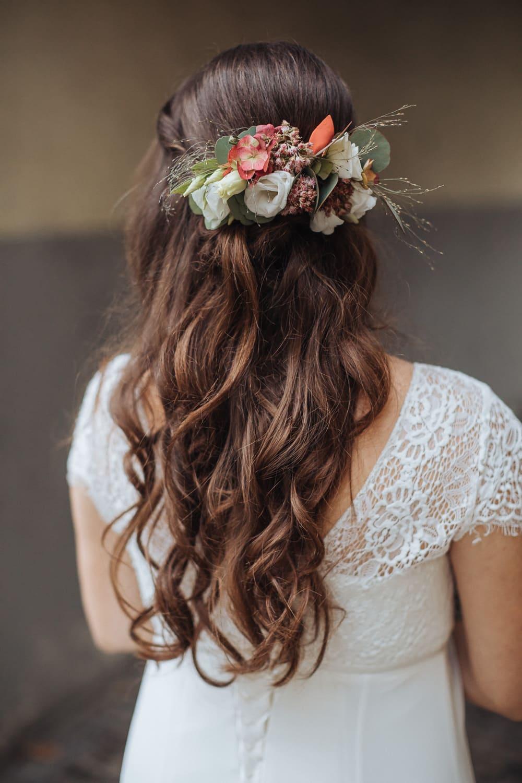 Hochzeit Frisur Blumen