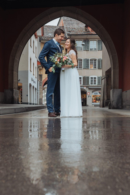 Trauung Aarau Altstadt Regen