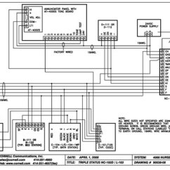 Nurse Call System Wiring Diagram Dog Sled Harness Control Module, Solid State For Dual Or Triple Status Systems | Cornell Communications Emergency ...