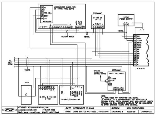Nurse Call System Wiring Diagram : 32 Wiring Diagram