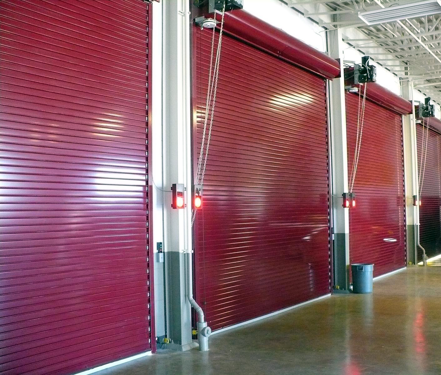 Insulated Roll Up Garage Doors