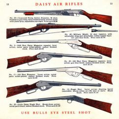 Daisy Air Rifle Parts Diagram Ohm Load Wiring Cornell Publications C1925 Rifles Catalog Contents