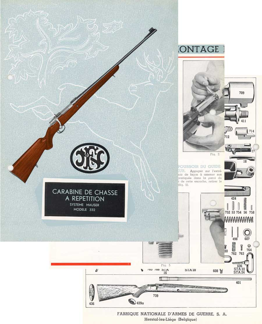 hight resolution of  fn mauser c1964 manual french