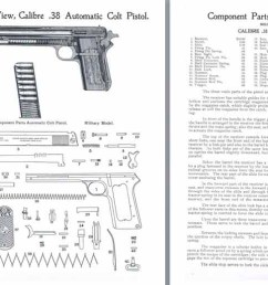 colt m1902 38 military model automatic pistol manual [ 1524 x 519 Pixel ]