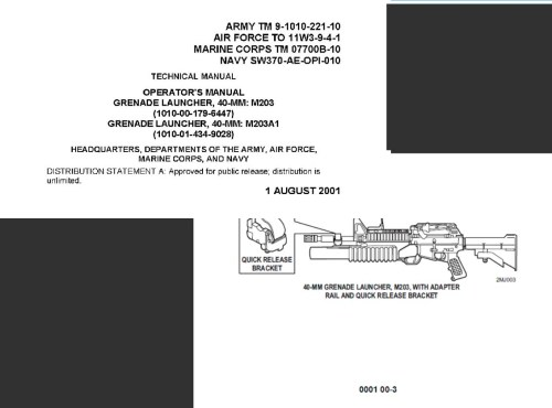 small resolution of  tm 9 1010 221 10 operator manual grenade launcher 40mm