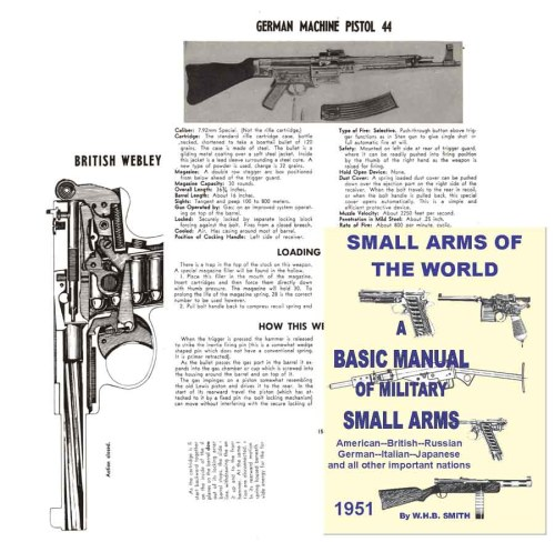 small resolution of  a basic manual of military small arms 1951 big edition