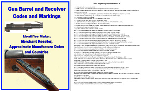 Cornell Publications Gun Barrel and Receiver Codes