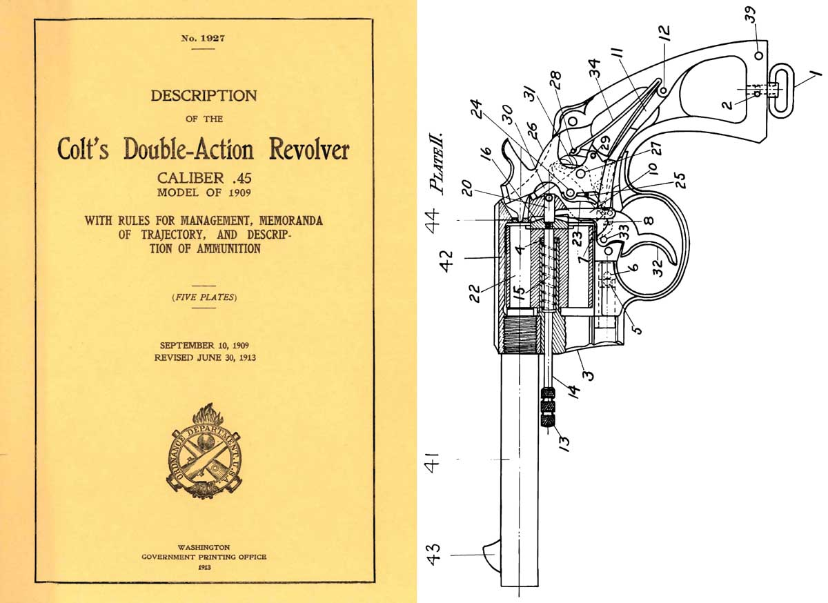 hight resolution of  colt 1913 double action revolver 45 gpo description of manual