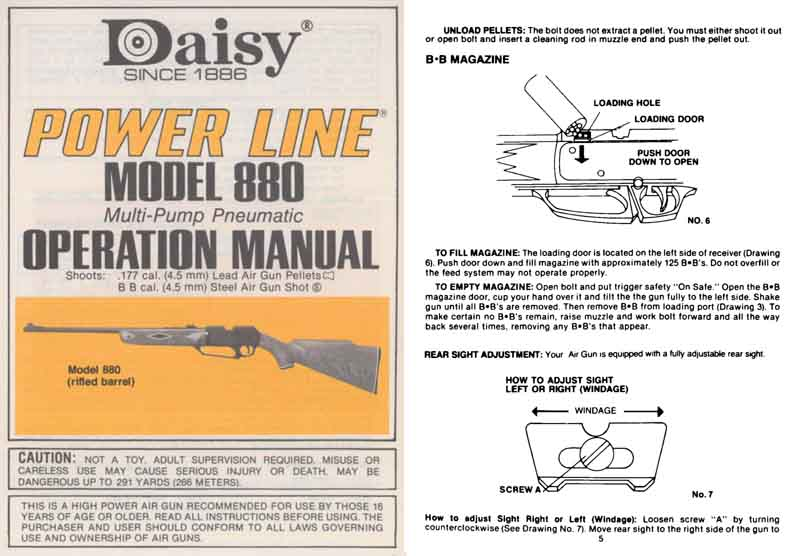 daisy 880 parts diagram mk1 golf ignition wiring powerline repair manual pictures to pin on pinterest - pinsdaddy