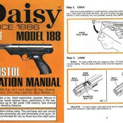 Daisy Air Rifle Parts Diagram House Wiring South Africa Cornell Publications Llc Links To Gun Catalog Reprints Model 188 Pistol C1985 Manual