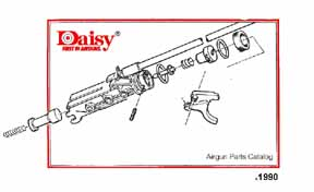 daisy air rifle parts diagram msi motherboard wiring cornell publications llc links to gun catalog reprints 1990 part manual