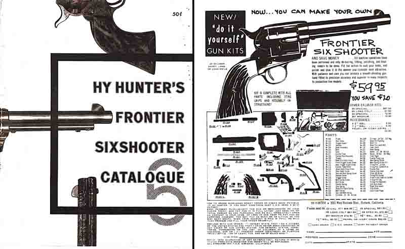 Hy Hunter 1956 Frontier Sixshooter Catalog For Sale at