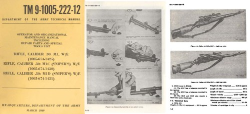 small resolution of  m1c m1d rifle snipers operator maint manual