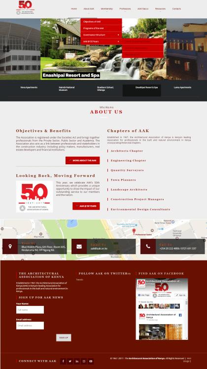 AAK Website