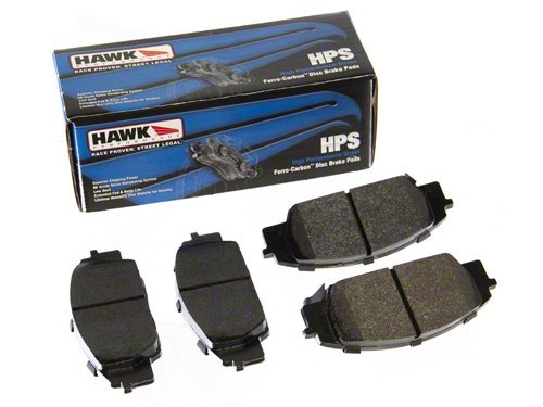 Front /& Rear Set Hawk Street HPS Brake Pads for Z33 350Z V35 G35 w// Brembo