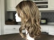 hair toppers curly wavy