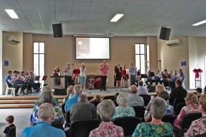 2014 Christmas Carols Service with the Brisbane Brass Musical Association