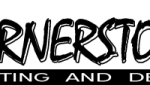 Cornerstone Drafting and Design logo black and white 2016 trans bg