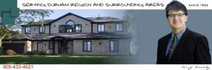 Darryl Kennedy with a custom home designed by Cornerstone Drafting