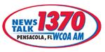 News Talk 1370 AM WCOA logo