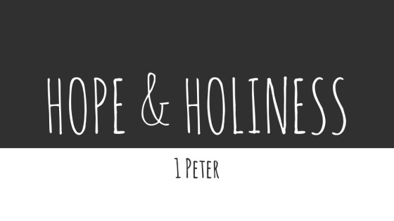 Hope and Holiness