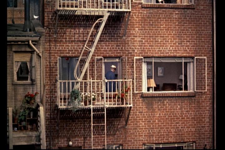 Beeld van Thorwalds appartement in Rear Window