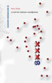Omslag bundel 'Je ziet hier iedereen voorbijkomen' van Hans Kloos