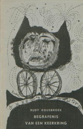 Omslag Rudy Kousbroek, 'Begrafenis van een keerkring' (1953)