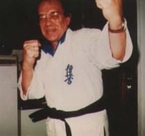 Cornets de Groot in karatepak van Hans Dütting.