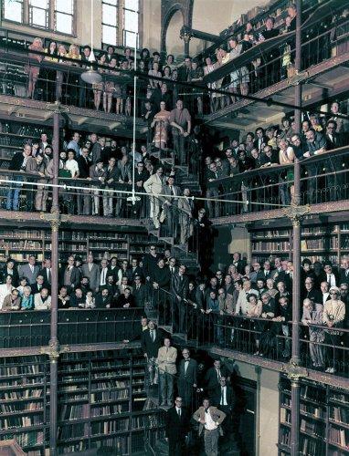 Bezige Bij-auteurs in 1969, foto Paul Huf