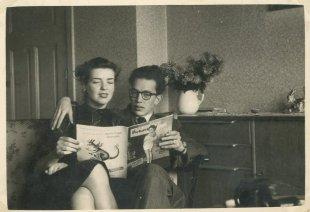 Met Willy, 1954