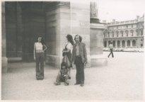 Parijs, 5-9 augustus 1973, bij de Tuilerieën.
