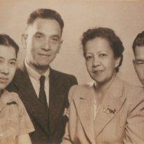 Bij het afscheid van Piet in Indië, 1946