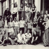 Klassenfoto, ± 1975