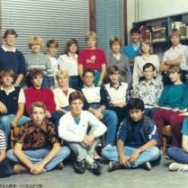Klassenfoto, ± 1985