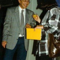 Met een onbekende, Letterkundig Museum, 10 september 1986