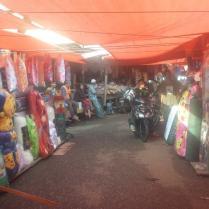 Overdekte markt in Bangko