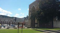 De oude abdijtoren van Stavelot