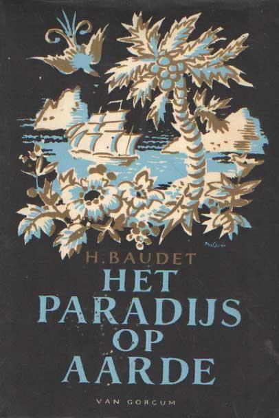 Omslag 'Het paradijs op aarde'
