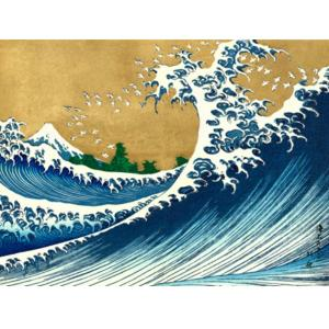 KATSUSHIKA HOKUSAI The Big Wave (from 100 views of Mt. Fuji)